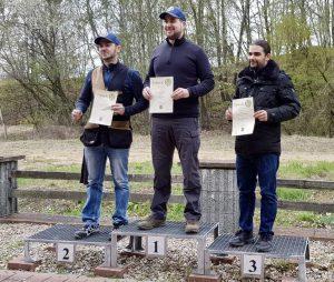 Ergebnisse der Bezirksmeisterschaft Flinte Trap Herren 1+2 und Damen 2019